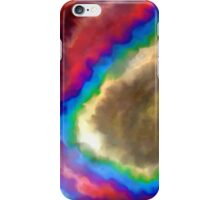 abstract expressionist meh disappointment iPhone Case/Skin