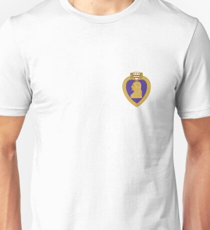 Purple Heart medal Unisex T-Shirt