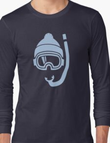 Snorkel deep powder snow Long Sleeve T-Shirt