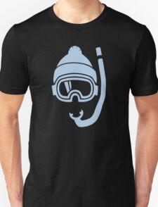 Snorkel deep powder snow Unisex T-Shirt
