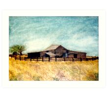 The Old Woolshed Art Print