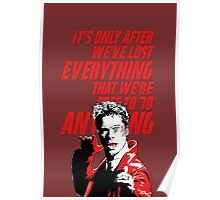 Tyler Durden Fight Club Poster