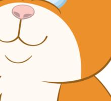 Adorable cartoon cat Sticker