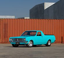 Blue Holden HK Ute by John Jovic
