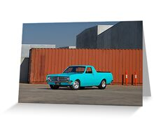 Blue Holden HK Ute Greeting Card