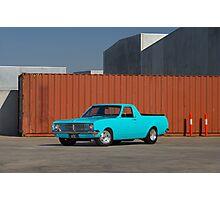 Blue Holden HK Ute Photographic Print