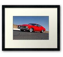 Red Ford XC Coupe Framed Print
