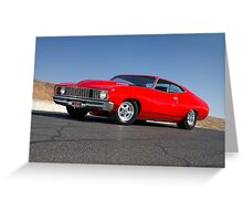 Red Ford XC Coupe Greeting Card