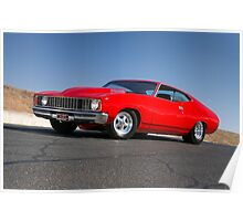 Red Ford XC Coupe Poster