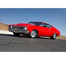 Red Ford XC Coupe Photographic Print