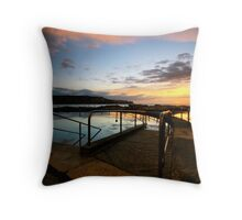 Malabar Tidal Pool Throw Pillow