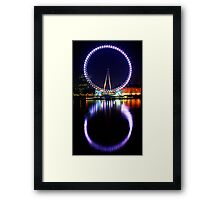 The London Eye Framed Print