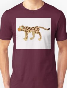 Funny cartoon cheetah Unisex T-Shirt
