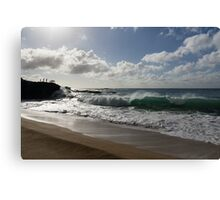 Sunny Hawaiian Beach Fun Canvas Print