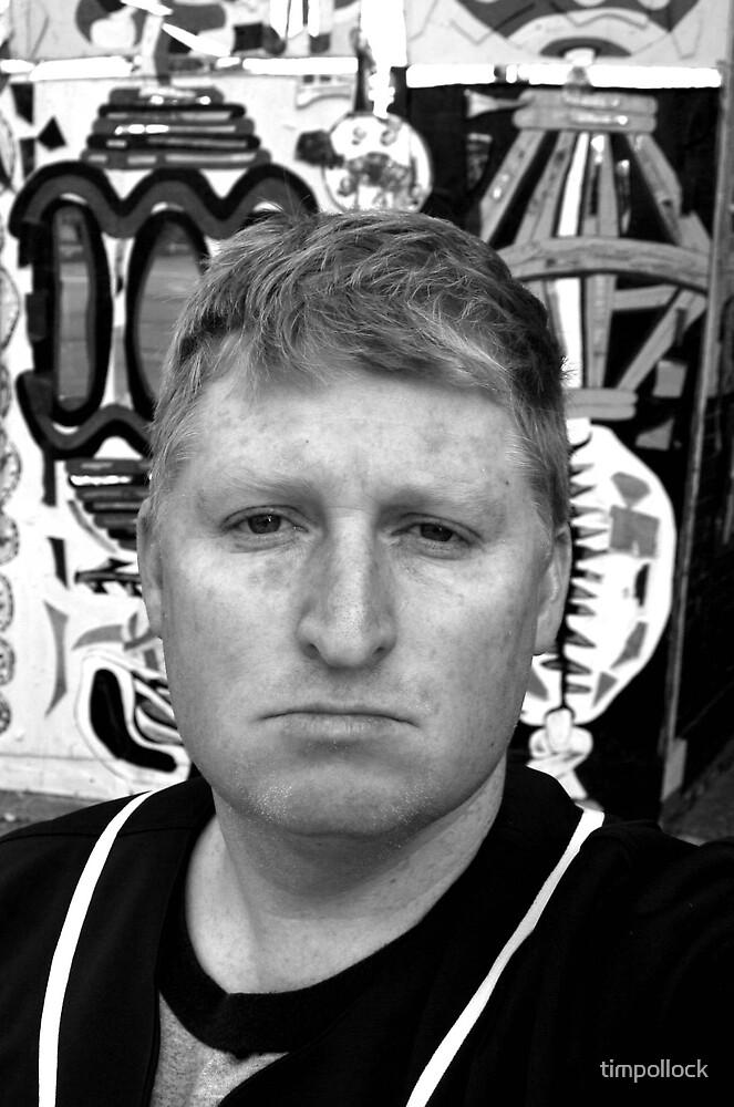 Ugly Bastard - Self Portrait by timpollock