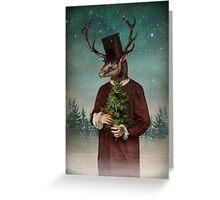 Mr Reindeer Greeting Card