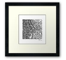 LINE : Optical Zoom Framed Print