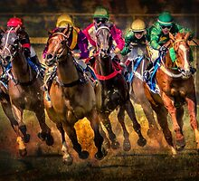 Race To The Finish by Sandra Anderson