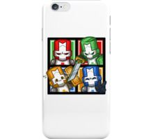 Castle Crashers Four-Square iPhone Case/Skin