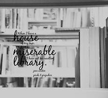 Jane Austen Library by Kimberose