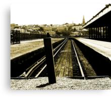 No Trains To Heaven  Canvas Print