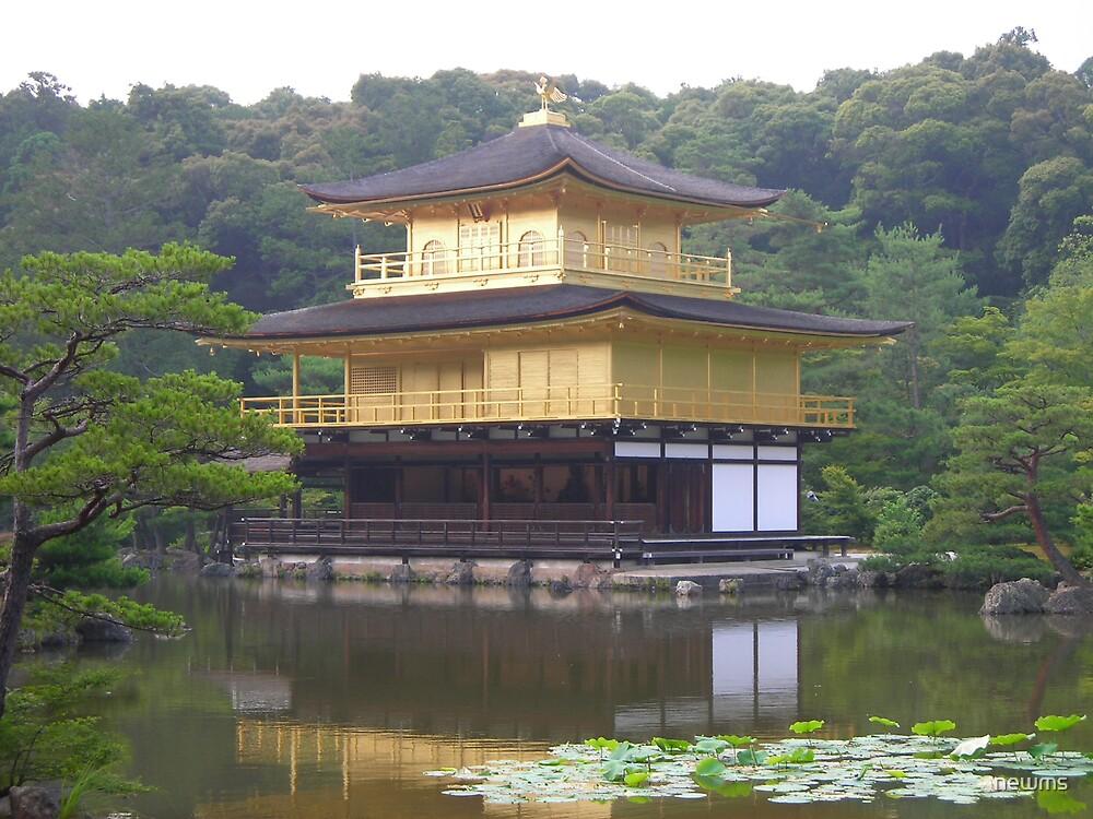 Kinkakaji, The Golden Pavillion by newms
