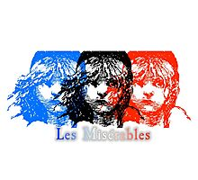 Les Miserables - Flag Photographic Print