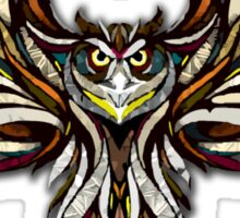 Owl on the Prowl Sticker