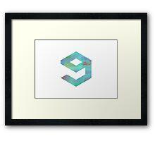 9gag Framed Print