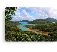 Discovering Eden - Hong Kong, China.  Canvas Print