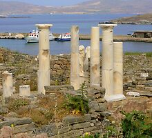 Ruins of Delos by kathyjane