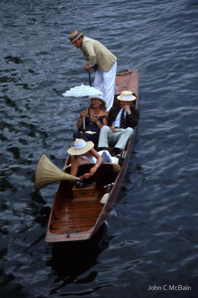 Punt at Henley Royal Regatta by John C McBain