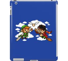 harry potter vs zelda iPad Case/Skin