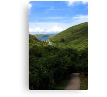 The Secret Walkway - Hong Kong. Canvas Print