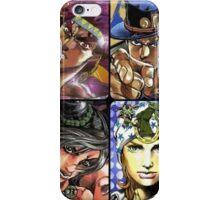 Jojo's Bizarre Adventure - The 8 Jojos iPhone Case/Skin