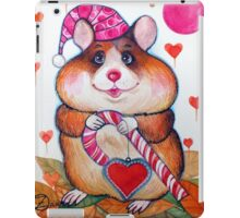 candy hamster iPad Case/Skin