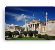 The Academy of Athens Canvas Print
