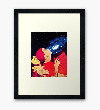 True Love - Galaxy Framed Print