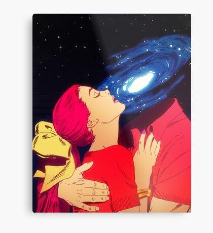 True Love - Galaxy Metal Print
