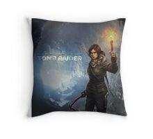 Rise of the Tomb Raider - v01 Throw Pillow