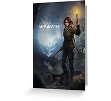 Rise of the Tomb Raider - v01 Greeting Card