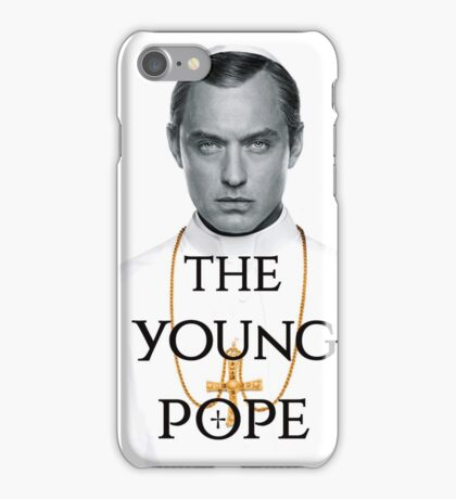 the YOUNG POPE iPhone Case/Skin