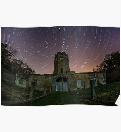 Ravensworth Castle Startrails Poster