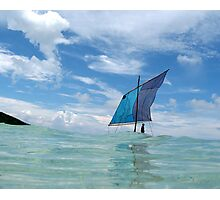 Kula Canoe, Deboyne Lagoon, Papua New Guinea Photographic Print