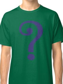 The Riddler  (Purple Question Mark) Classic T-Shirt