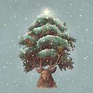 Reindeer tree  by Terry  Fan