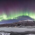 Northern Lights Panorama by Frank Olsen