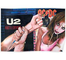 Sex, Drugs and Rock n Roll Poster