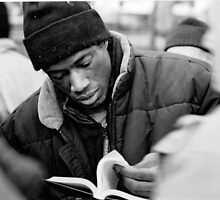 Reader by Aleksy Antoniewicz