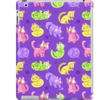Whole Lotta Cat (Neon version) iPad Case/Skin